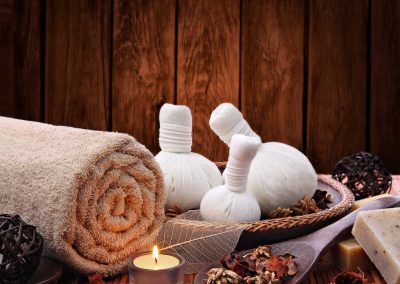 Various Items for Thai Massage Therapy
